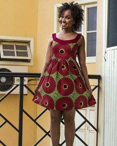 Awesome latest african fashion look . African Party Dresses, Short African Dresses, African Print Dresses, African Fashion Dresses, African Attire, African Wear, African Women, African Style, African Inspired Fashion
