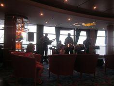 - Atrium Bar with Joy Band Norwegian Sky Cruise, Atrium, Joy, Band, Sash, Glee, Being Happy, Bands, Happiness