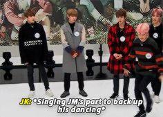 """jungkook's adorable voice crack "" +bonus: the second attempt was successful"