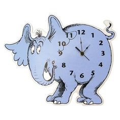 Dr. Seuss by Trend Lab Horton Hears a Who Wall Clock
