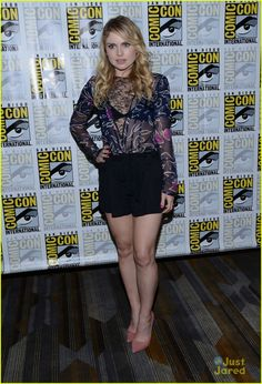 rose mciver aly michalka izombie cast signing panel comic con 25                                                                                                                                                                                 More