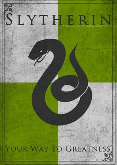 Game of Thrones Style Slytherin Banner by TheLadyAvatar.deviantart.com on @DeviantArt