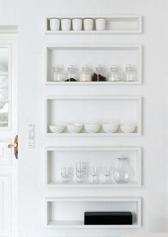 Schöne Idee für Küche oder Esszimmer.