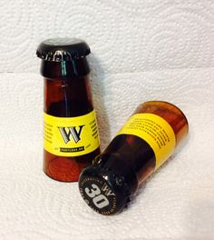 Widmer Brothers Beer Bottle Shot Glasses. Recycled Glass Bottles. Man Cave. For Him. on Etsy, $8.00