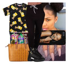 """"""""""" by msixo ❤ liked on Polyvore featuring Hershey's and MCM"""