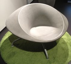 Cast Concrete Chair