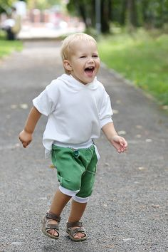 Harem pants/Drop Crotch trausers/ Natural linen shorts/ 100% linen/ boy girl softened crumpled linen pocket.