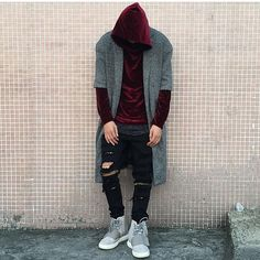 How to get original Adidas Yeezy Boost 750 Gray / White at online store Black Summer Outfits, Winter Date Outfits, Summer Dress Outfits, Fashion Moda, Urban Fashion, Mens Fashion, Street Fashion, Look Man, Funny Dresses