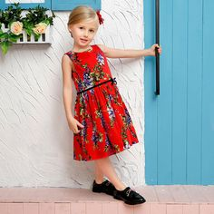 cc2472fba685 8 Best Kid fashion printing dresses images
