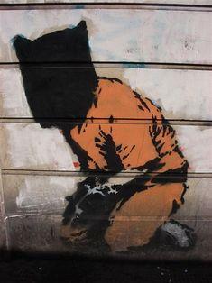 Banksy ~ Guantanamo Bay Detainee ~ London
