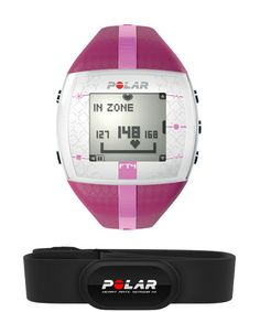 Polar FT4 Fitness Women's Heart Rate Monitor Purple Pink 90042864