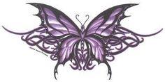Fibromyalgia Purple Butterfly