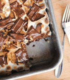 Borrow the magic of s'mores - http://www.preventionrd.com/2012/05/smores-brownies/