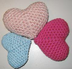 Gevonden Voorwerpen: Gratis patroon gehaakt hart