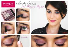 Palette d'ombres à paupières Smoky Stories teinte In Mauve Again de Bourjois #smoky #stories #smokystories #inmauveagain #tuto #yeux