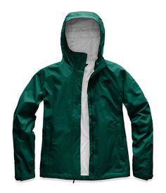 ca4e8c20f9 The North Face Women s Venture 2 Rain Jacket Green Rain Jacket