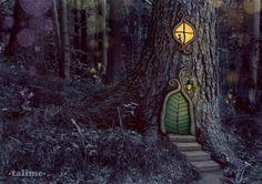 Poď, vezmem ťa do lesa... (ako vznikal môj nový obrázok) / talime » SAShE.sk - slovenský handmade dizajn