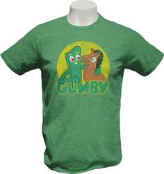 Gumby And Pokey Mens Tee