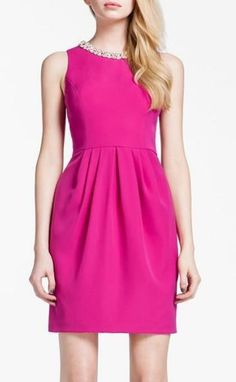 Pink Embellished Dress