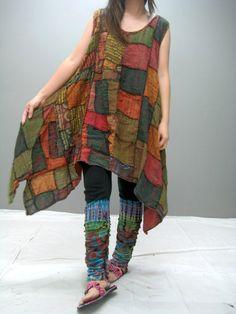 MANE patchwork dress (LIMITED EDITION) 167.2. $45.00, via Etsy.