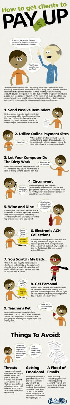 How To Get Clients To Pay Up #business #c5fl #category5ive c5fl.com