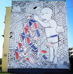 by Millo in Bialystok, Poland, 6/15 (LP)