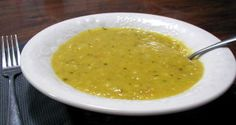 Split Mung Bean Soup