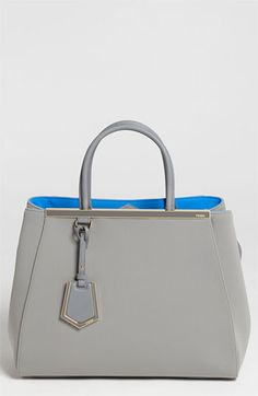 ad9bd352c0ba Fendi  2Jours - Medium  Neoprene Satchel available at  Nordstrom  gorgeous  blue