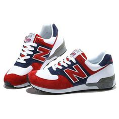 NB 576 WRT576 Womens New Balance Spider Man Red Blue White Shoe ❤ liked on Polyvore featuring shoes, red white blue shoes, blue and white shoes, red white and blue shoes, new balance shoes and new balance