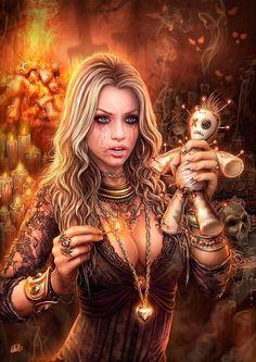 Dark Fantasy Art, Fantasy Girl, Fantasy Witch, Fantasy Kunst, Chica Fantasy, Fantasy Art Women, Witch Art, Fantasy Artwork, Female Vampire