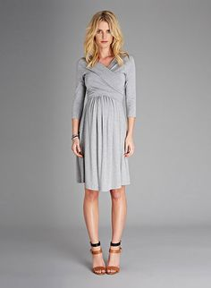 Isabella Oliver- Simple & Chic Maternity Dress.