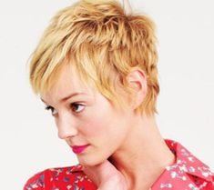 Awesome Blonde Pixie Cut
