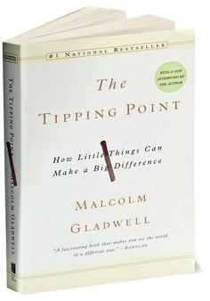 the tipping point book | Book Review: The Tipping Point + Why I love Malcolm Gladwell ...