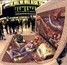 The modern trend in anamorphic sidewalk art owes much to the efforts of Kurt Wenner, a former NASA scientific illustrator who has been crafting meticulous public illusions for the past 30 years. From Rome to London to Las Vegas, his art has dazzled all who walk by it (or on it!). Click through to see some of his most striking work, and read an interview with the artist here.