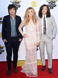 Neil Perry, Kimberly Perry, and Reid Perry of the Band Perry at the #ACMawards50