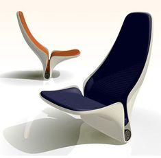 Znalezione obrazy dla zapytania futuristic sofa design