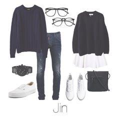 BTS Jin/Seokjin Couple outfit