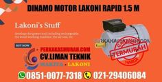 harga dinamo lakoni, harga elektro motor lakoni rapid 1,5M, mesin penggerak lakoni