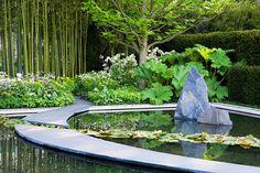 arabella lennox boyd / daily telegraph garden, rhs chelsea 2008