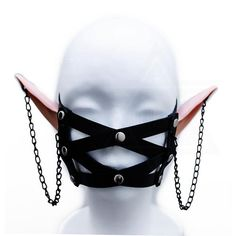 If you would like anything custom, please message us before placing your order Dark Mask, Pastel Punk, Elf Clothes, Fairytale Fashion, Elf Hat, Dark Elf, Drawing Clothes, Grunge Outfits, Best Cosplay