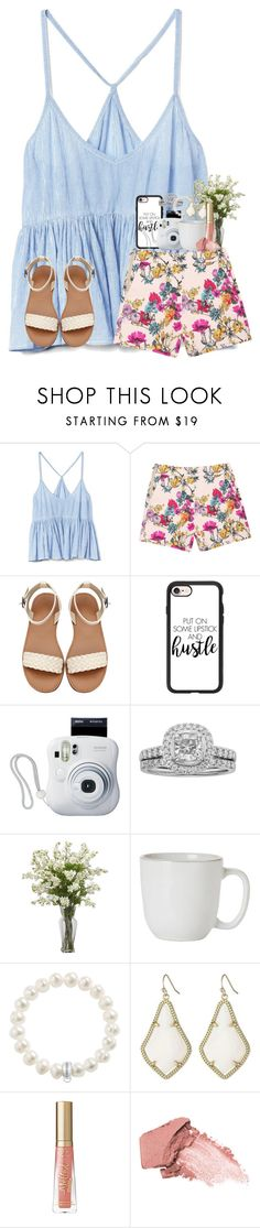 """see the good :)"" by karinaceleste ❤ liked on Polyvore featuring Gap, Casetify, Fujifilm, Juliska, Thomas Sabo, Kendra Scott and Urban Decay"