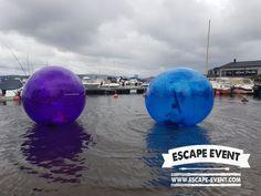 #vattenzorbing #funball #ludvika #sverige #dalarna escape #väsman #väsmansdag #gåpåvatten