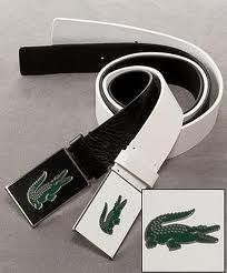 5a8a4d6801ee57 I want the white one!!! Joshua Park · Belt · Lacoste Clothing