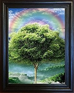 3d Art-four Seasons Framed Picture- Amazing Life Like 3d Pictures Lenticular Framed Posters From 3d Life Art. Advanced Technology Provides a Depth Image That Changes When Seen From Different Angles. Picture Changes From Winter, Spring, Summer to Fall, Enhance Your Home and Wall Decor Now! by 3D Life Art