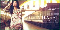 Mina Hasan Eid Lawn Collection With their strength lying in the cut and the finish of each piece, all fabrics, stones, and laces are handpicked and imported personally to ensure a flawless level of quality.so get ready for this  Mina Hasan Eid Lawn Collection By Shariq Textile 2016 http://www.womenclub.pk/mina-hasan-eid-lawn-collection-shariq-textile-2016.html #MinaHasanEidLawn #EidLawnCollection #Eid2016 #EidCollection2016 #Dresses #Fashion