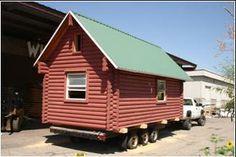 Mobil Log Cabin Motels