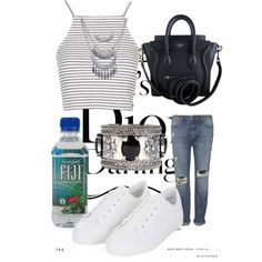 Sunny day by camilla-tartaglia on Polyvore featuring polyvore, mode, style, Topshop, Whistles, CÉLINE, Wet Seal and Boohoo