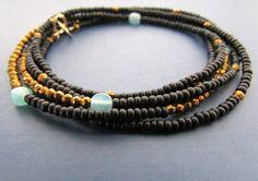 Awesome Etsy listing at https://www.etsy.com/pt/listing/248852096/beaded-wrap-bracelet-beaded-wrap