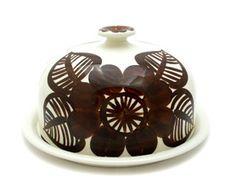 Finnish vintage Arabia cake dome