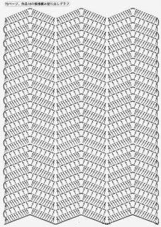 67 best croche ripple images on pinterest yarns crochet patterns scorzo tricroche ccuart Gallery